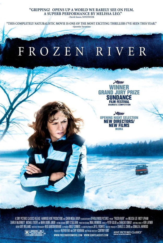frozen river Frozen river is a dramatic feature film which takes place in the days before christmas near a little-known border crossing on the mohawk reservation between new york state and quebec.
