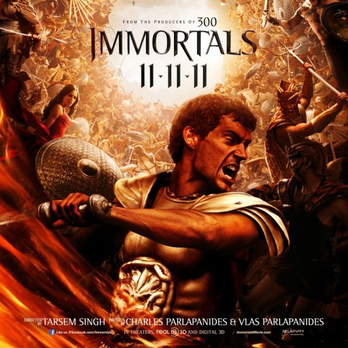 Immortals Movie Poster Immortals Poster